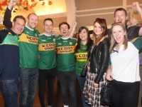 JC Higgins, Kevin O'Mahony, Paddy Moran, Tadhg Casey, Marie O'Mahony, Amy Fuller, Siobhan O'Driscoll and Damien Casey in The Gresham Hotel in Dublin before the match on Sunday. Photo by Dermot Crean