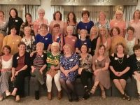 Ladies at the Moyderwell school Class of 1979 get together at the Rose Hotel on Saturday night. Photo by Dermot Crean