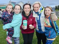Aobh Culloty Aine Lambe, Martina Lawless, Roanna O'Sullivan and Aifric Culloty at the Tralee Parnells Family Fun Day at Caherslee on Friday evening. Photo by Dermot Crean