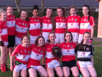 U14 girls who  won the Div 5 North Kerry Board Plate Final last week over Listowel Emmets B