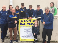 Members of Ballymacelligott GAA Club looking forward to 'Run Ballymac' next month.