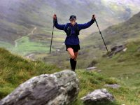 What an achievement…Catch Doolan, completed the 200km non stop endurance race The Kerry Way Ultra Marathon, 40 hour, non stop Ultra Marathon, traversing the MacGillycuddy's Reeks, Iveragh Peninsula's ancient trails, and coastal cliffs. It is Ireland's longest distance trail Route. The not for project Race Director is Eileen Daly.Photos:Valerie O'Sullivan/FREE PIC/ISSUED 08/09/2019