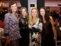 Host Helen Queally Murphy with Regina Tarrant, Anne Marie Horgan and Vanessa Casey at Helen and Stuart's Fashion Fix event at the Ballygarry House Hotel on Saturday night. Photo by Dermot Crean