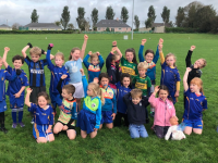 Ballymac U6 boys & Girls who played a Blits at The Kerry GAA Centre of Excellence on Sunday last.