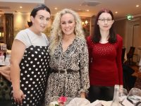 Lorraine Fitzgerald, Ruth Kemple and Bridget Douglas at the IT Cosmetics CH Tralee event at The Rose Hotel on Thursday night. Photo by Dermot Crean