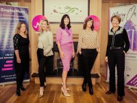 Colette O'Connor (HQ Listowel), Elin Sorensen (Chairperson KBN & GHQ Design), Karen O'Reilly (Employmum), Lisa O'Flaherty (Moving On), Lisa Fingleton (Moving On) at the event.