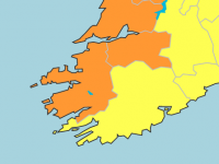 Status Orange Wind Warning Extended For Kerry