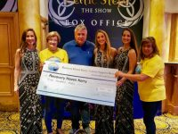 Sean Murphy & The O'Neill Sisters of Celtic Steps The Show Present Donation To Recovery Haven Kerry In Collaboration With Fashion Designer, Don O'Neill.