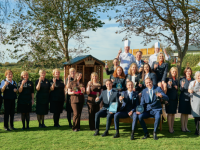 Ballygarry toasts its latest success.