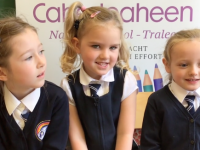 WATCH: Caherleaheen NS Junior Infants Talk About Their Schooldays So Far