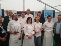 The IT Tralee Culinary team.