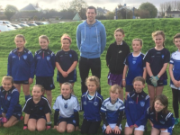 Thanks to David Moran for visiting Kerins O' Rahilly's Juvenile Academy last Sunday. Here he is pictured with some of our U8 Girls.