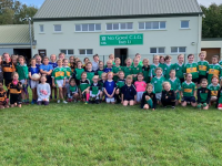 U8 & U10 Girls from Na Gaeil, Churchill, Kerins O'Rahillys, Austin Stacks and John Mitchels that took part in the Tralee Go Games Blitz in Killeen on Saturday