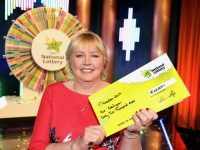 Ita Neligan from Ballymacelliot, Co. Kerry (pictured here) has won €62,000 on last Saturdays (9th of November 2019) National Lottery Winning Streak G    ame Show.  The winning ticket was bought from Centra Main Street, Castleisland, Co. Kerry. Pic. Justin Mac Innes/ Mac Innes Photography.