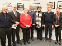 Ian Willey, Tommy O'Connor, Edel Codd, Steve Baker, Cllr Norma Foley, James O'Loughlin and Mary Cremin at the opening of Ardfert Camera Club's exhibition on Tuesday night. Photo by Dermot Crean