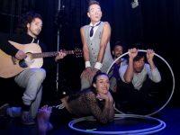 Performers at Circus Siamsa on Saturday. Photo by Dermot Crean