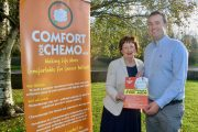 Mary Fitzgerald and Mikey Sheehy launch the upcoming information evening on Men's Cancers. Photo by Dermot Crean