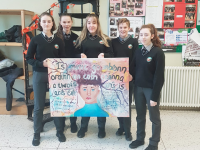 Gaelcholáiste Chiarraí students who took part in Wellbeing Week.