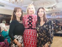 Catherine Sugrue, Jo O'Connor and Deirdre Lyons at the Ireland AM event at Ballygarry House Hotel on Sunday morning. Photo by Dermot Crean