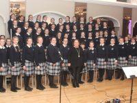 The Presentation Castleisland Choir at the launch of their CD at Ballygarry House Hotel on Thursday night. Photo by Dermot Crean