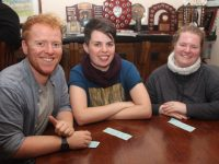 Albha Foley, Kate Quigley and Saorlait Foley at the table quiz in aid of the Tralee Women's Resource Centre at Kerins O'Rahillys Clubhouse on Friday night. Photo by Dermot Crean