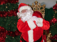 Santa Claus arrives in Manor West Shopping Centre this weekend.