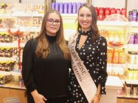 Jennifer Rock aka The Skin Nerd with Kerry Rose Sally Ann Leahy at Jennifer's beauty event at CH Tralee on Friday evening. Photo by Dermot Crean
