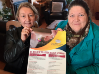 Vera O'Leary, Manager Kerry Rape & Sexual Abuse Centre and Catherine Casey, Manager Adapt Kerry Women's Refuge looking for the public's support with the 16 Days Of Action Campaign.