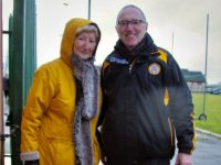 New Chairman of Austin Stacks Billy Ryle with outgoing Chairwoman Mairead Fernane in Rathmore on Sunday. Photo by Adrienne McLoughlin