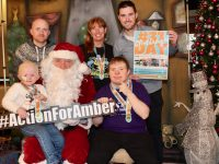 Launching the 31 Day Challenge were Santa with little Amber O'Connor and Hugh O'Brien. At back are Danny O'Connor, Caroline Corkery and Colin 'Poshey' Aherne. Photo by Dermot Crean
