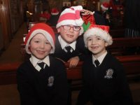 Pupils at the St Brendan's NS Blennerville Christmas Concert at St John's Church on Monday night. Photo by Dermot Crean