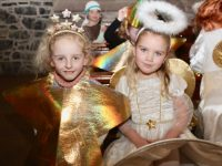 Caherleaheen NS pupils at their Christmas Concert on Thursday night in St John's Church. Photo by Dermot Crean