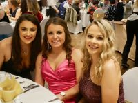 Clodagh Walsh, Brid Horan and Eilish Harrington at the Kerry Camogie event.