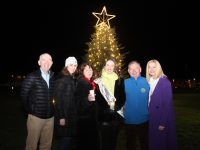 At the lighting of the Remembrance Tree were Fearghal Grimes, Mari O'Donnell.