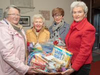 Launching the St John's Ashe Street Christmas Fair for Saturday 14th Dec  members of the St John Ashe Street Committee  Mary Kinch,Mona Buckley, Rhona Giles and Susan Keating. Photo: Joe Hanley