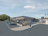 What the new Aldi in Cahersiveen will look like.