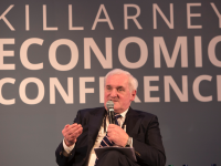 Bertie Ahern at a past Killarney Economic Conference.