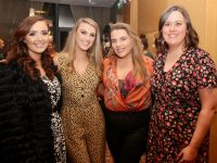 Orla Fitzgerald, Martina O'Connor, Bláthnaid O'Connor and Martina Dillon at the CH Tralee Christmas party at Ballyroe Heights Hotel on Saturday. Photo by Dermot Crean