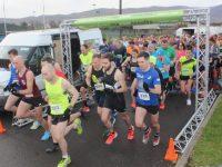 Setting off on the Kerins O'Rahillys 10k/5k Run on Sunday morning. Photo by Dermot Crean