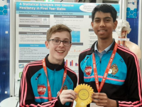 CBS Students Receive Award In BT Young Scientist and Technology Exhibition