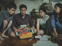 The Kim family in 'Parasite'.
