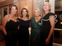 Aine Baker, Therese Greaney, Veronica Donovan and Sinead Curtinat the Scoil Eoin Valentine's Ball in Ballygarry House Hotel on Friday night. Photo by Dermot Crean