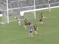 Cian Purcell scores a goal for Tralee CBS.
