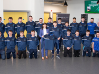 IT Tralee Hurling Club would like to thank Deirdre Flynn Solicitors for kindly sponsoring the team with crew necks and t-shirts for the weekend.