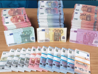 The fake notes seized by gardaí and revenue commissioners.