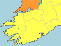 Wind Warning Downgraded To Status Yellow For Kerry