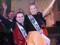 Christopher and Claire McDonald performing at the 'Mr & Mrs Strictly Come Dancing' at Ballyroe Heights Hotel on Saturday. Photo by Dermot Crean