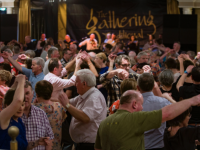 The Gathering is always a big draw for trad music and dance lovers.