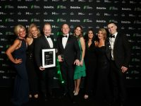Celebrating their Deloitte award last Friday night were Lisa Fitzgibbon – Fitzgibbon Interiors Emma Fitzgibbon – Operations Neil Fitzgibbon – Managing Director Paul Fitzgibbon – Managing Director Kaltrina Jashari – Finance Tracey Mangan – Sales Team Lead Imelda Roche – Sales Manager Kevin O Connor – Warehouse Operations