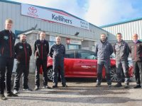 The Service Team at Kelliher's Garage Rathass.